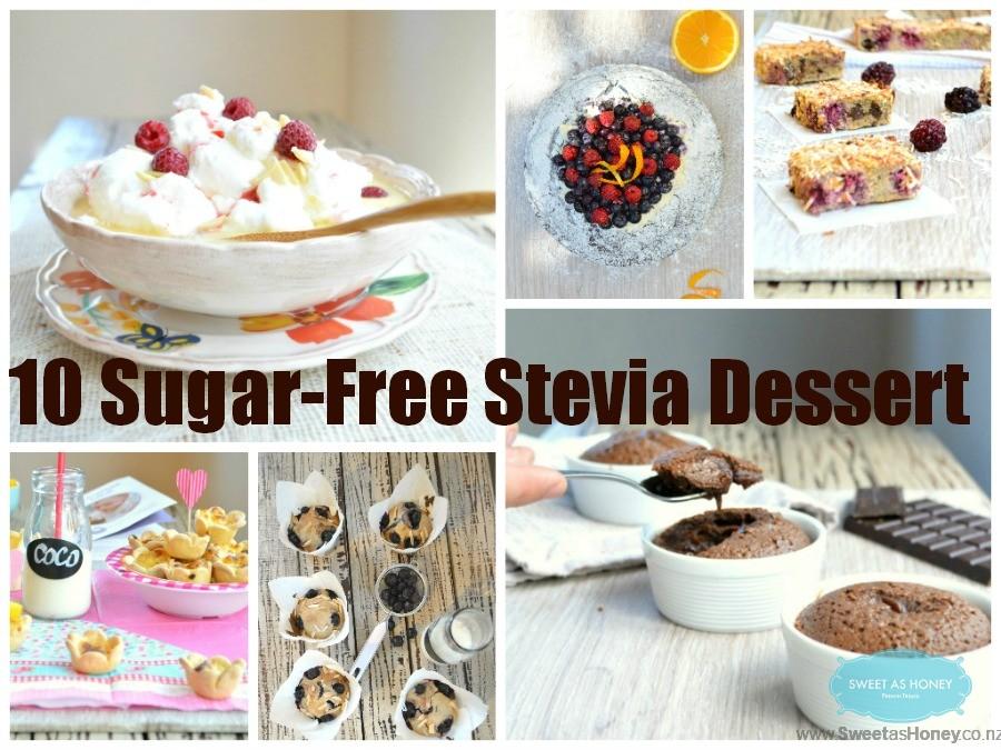 10 Sugar-free Stevia dessert Recipes