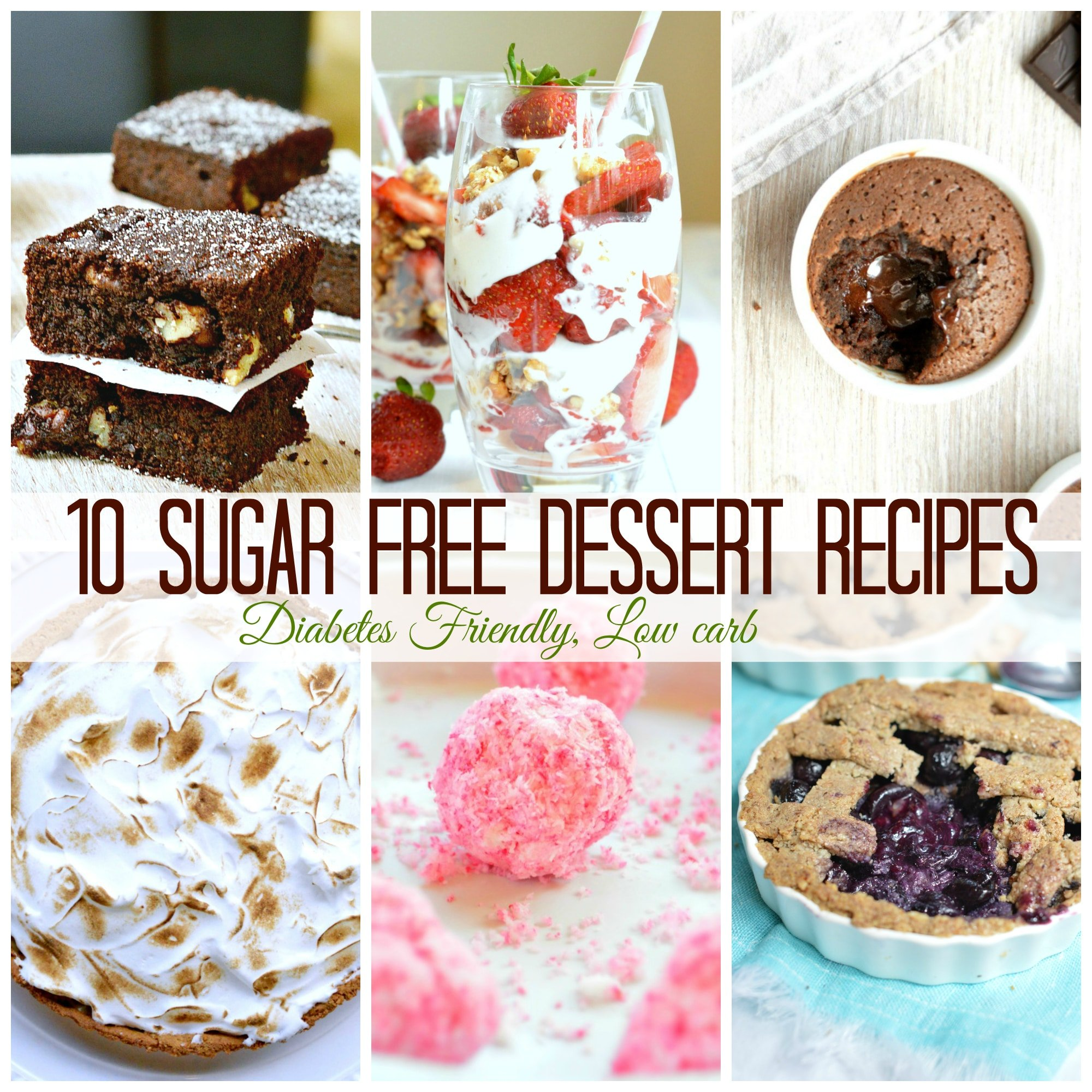 10 Sugar Free Dessert For Diabetics