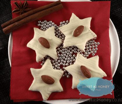 Almond White Chocolate Cookies