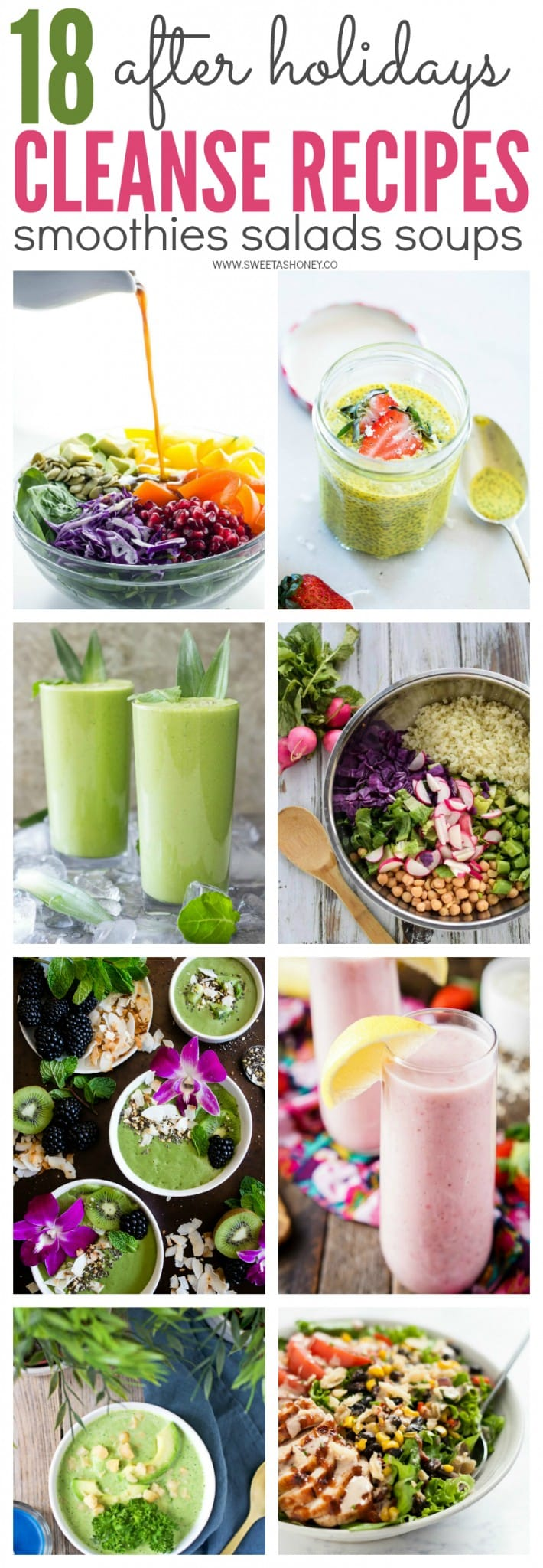 after holidays cleanse recipes