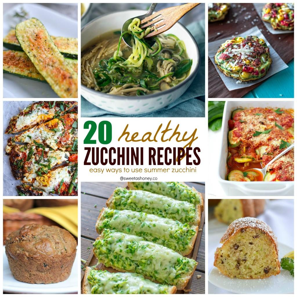 Healthy Zucchini Recipes| 20 Easy Ways to Use Zucchini