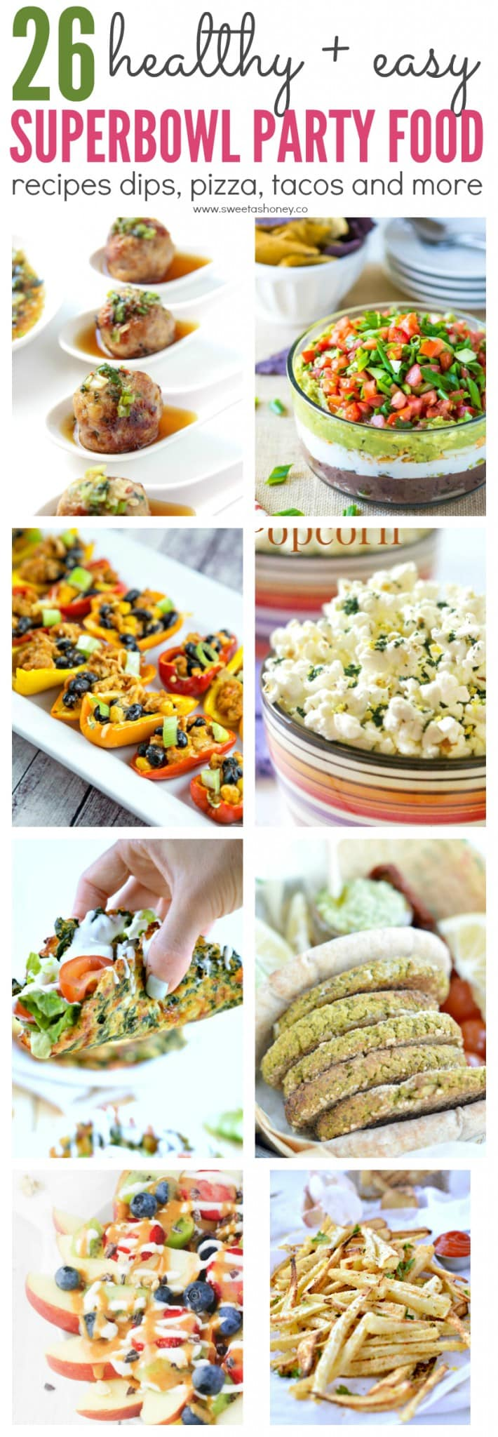 26 healthy superbowl party food recipes