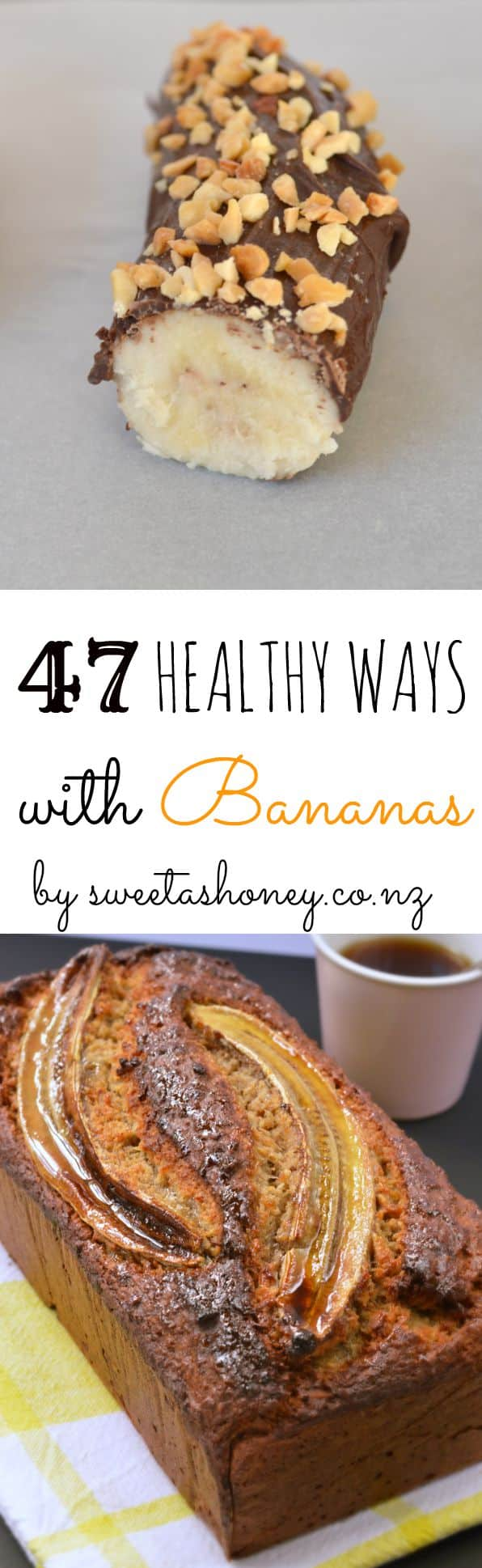47 ways with bananas sweetashoneynz