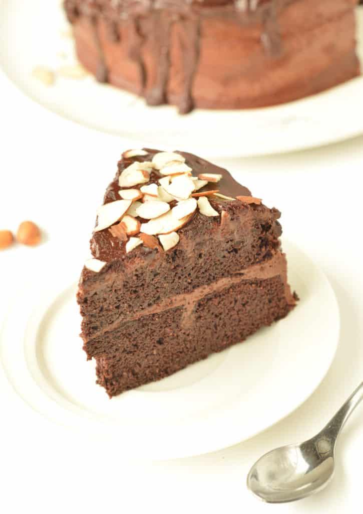 Almond flour chocolate cake recipe