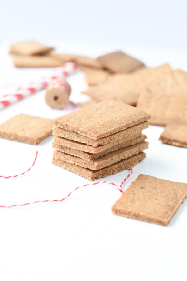Almond flour graham crackers