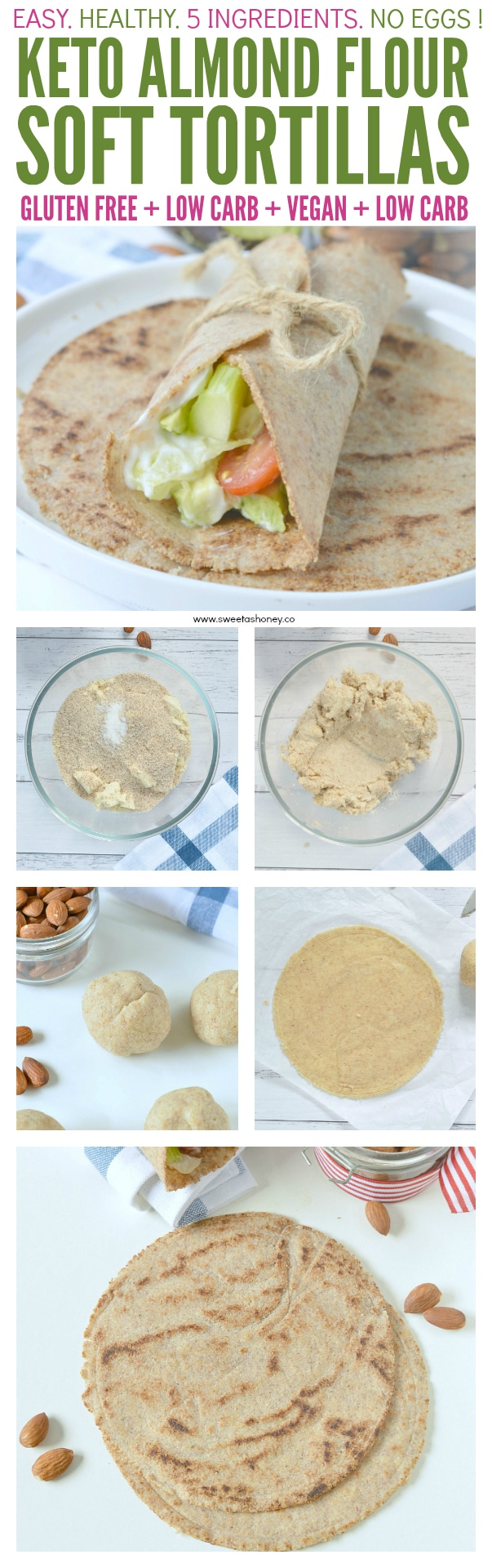 Almond flour tortillas keto soft tortillas