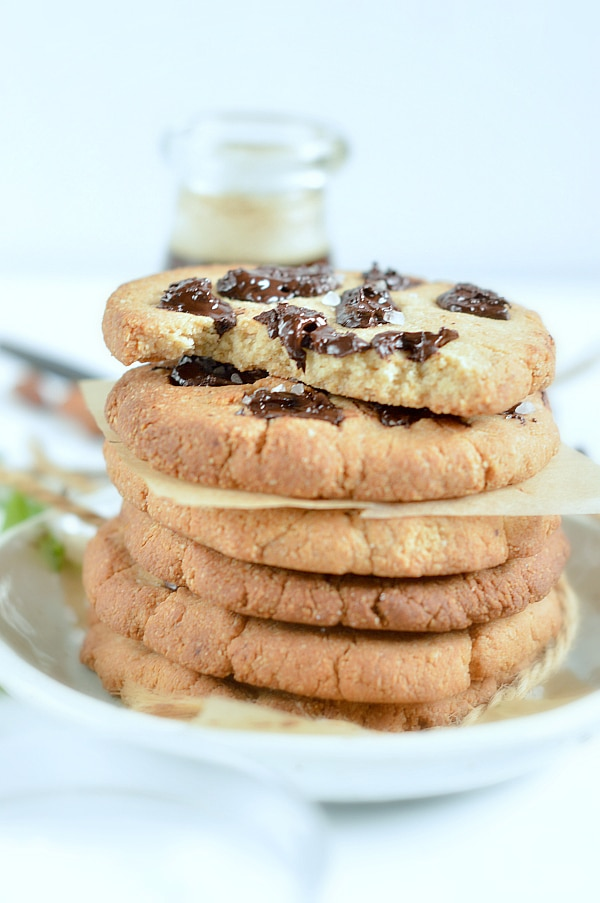 Almond Flour Chocolate Chip Cookies Paleo