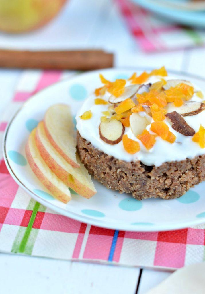 5-minutes Apple Mug Cake  eggfree, dairy free