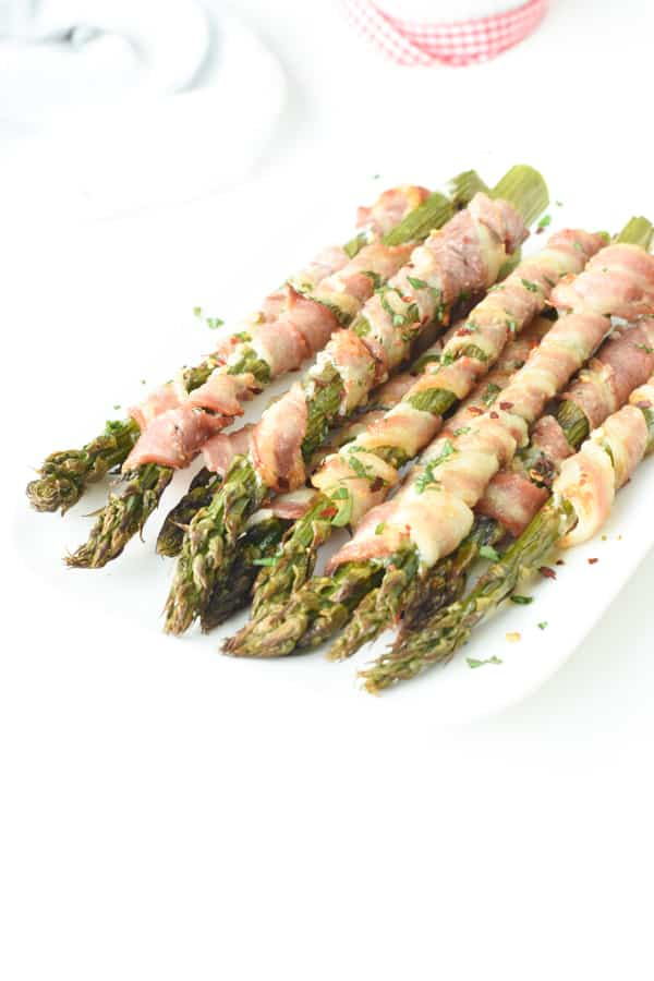 Bacon Wrapped Asparagus Oven Baked Recipe Sweetashoney
