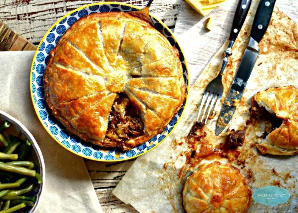 Steak Pie Easy Slow cooker recipe - Sweetashoney