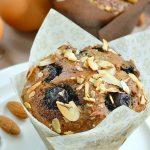 Blueberry Almond muffins sugarfree
