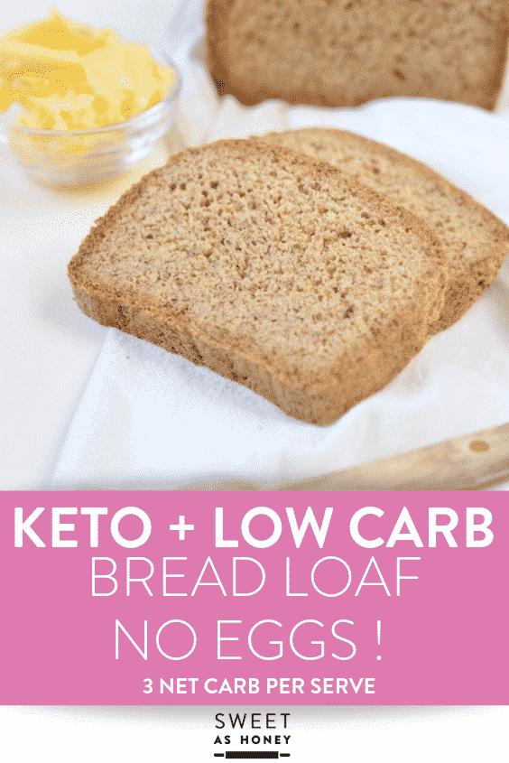 KETO BREAD LOAF NO EGGS