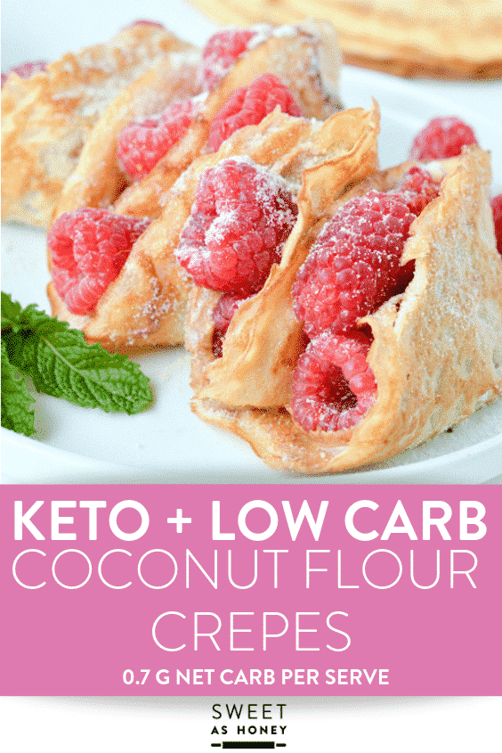 KETO COCONUT FLOUR CREPES