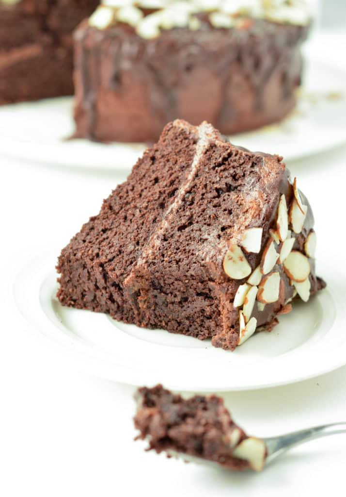 Chocolate Almond flour chocolate cake