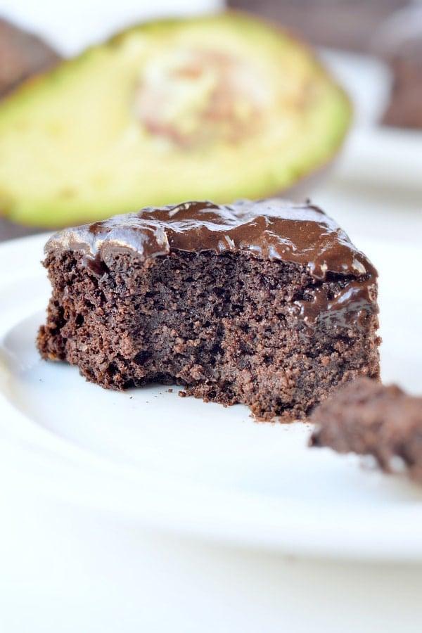 Chocolate Avocado Cake Sugar Free Gluten Free Keto