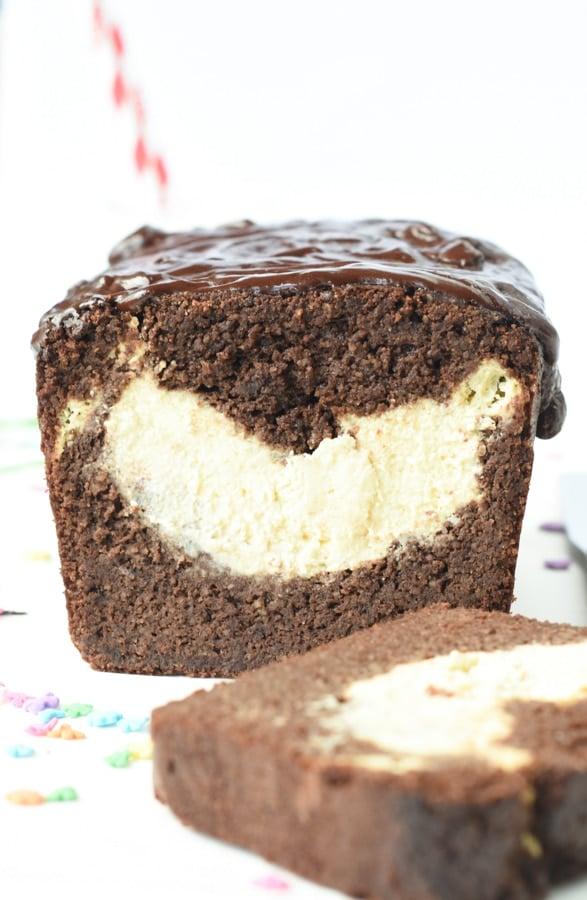 Chocolate keto pound cake