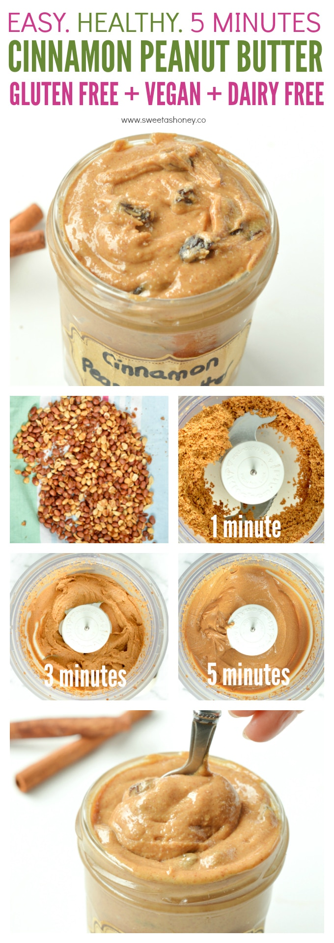 Cinnamon Peanut Butter
