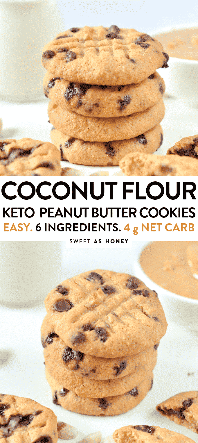 keto low carb peanut butter cookies