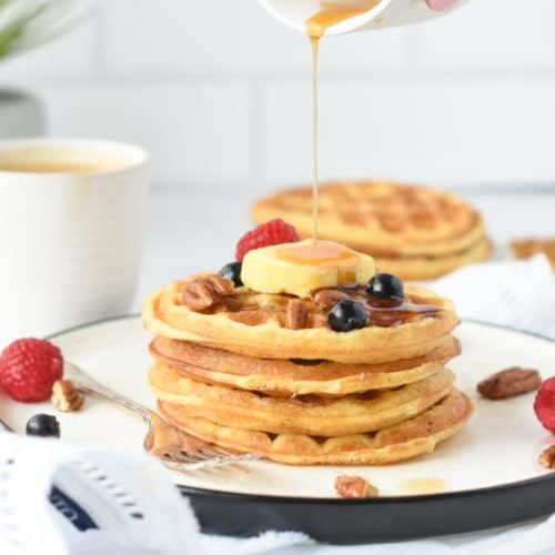 Coconut flour waffles recipe