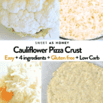 cauliflower pizza crust recipes