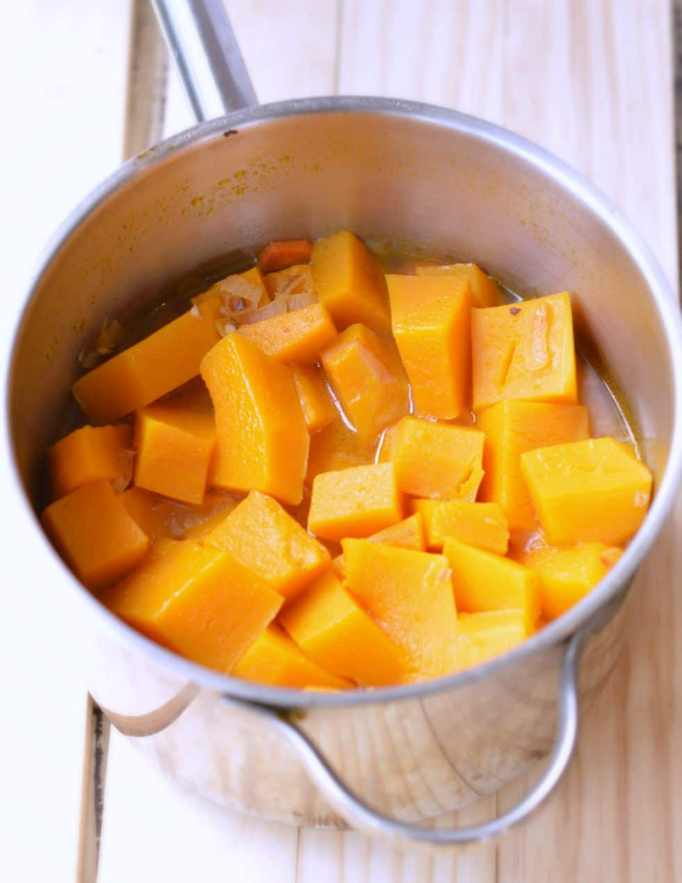 butternut squash carrot ginger soup