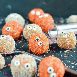 Apricot Balls - Healthy Halloween Treats