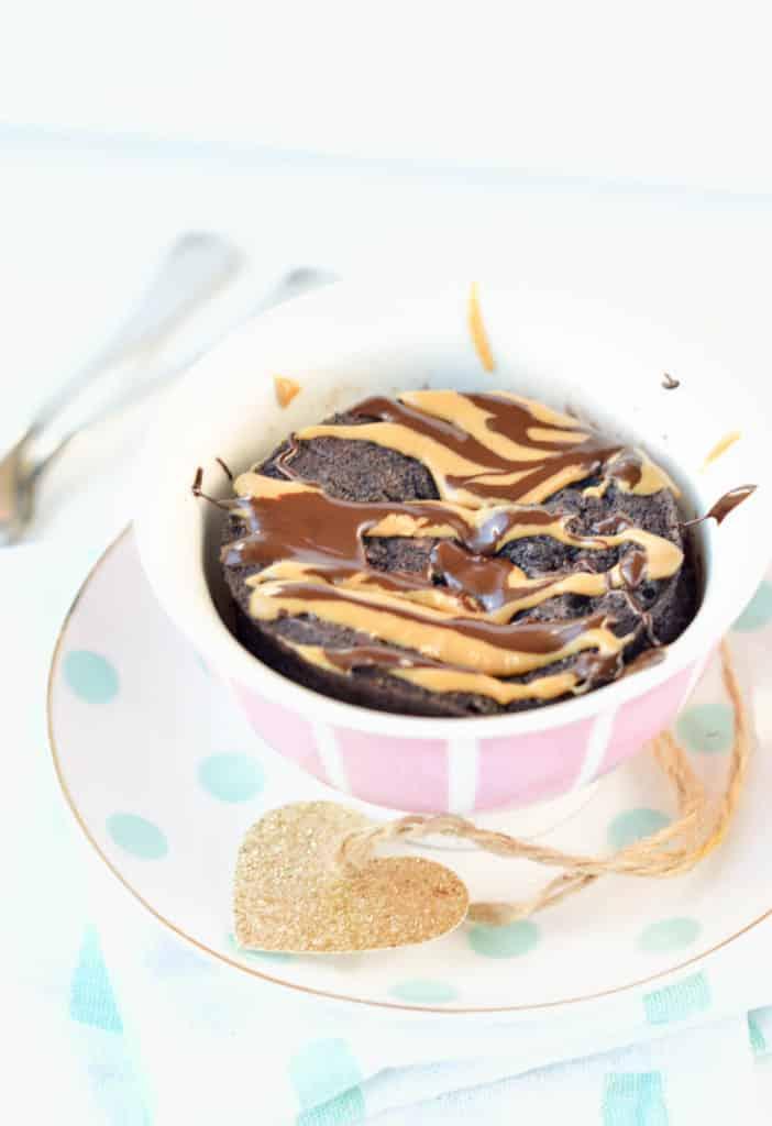 keto mug cake chocolate