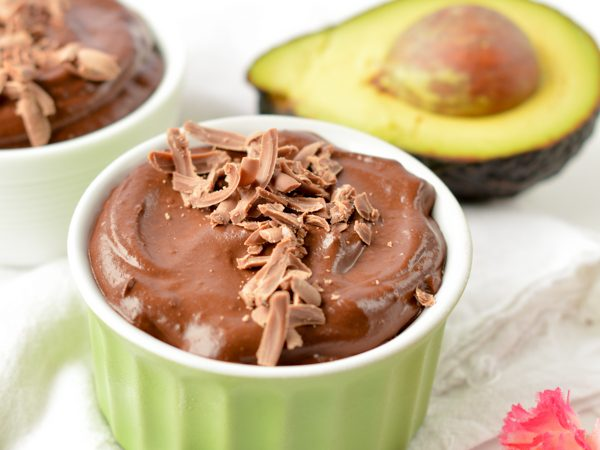 Paleo Avocado chocolate mousse