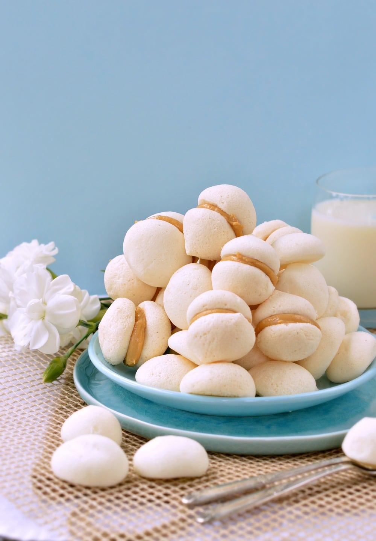 meringue cookies sugar free