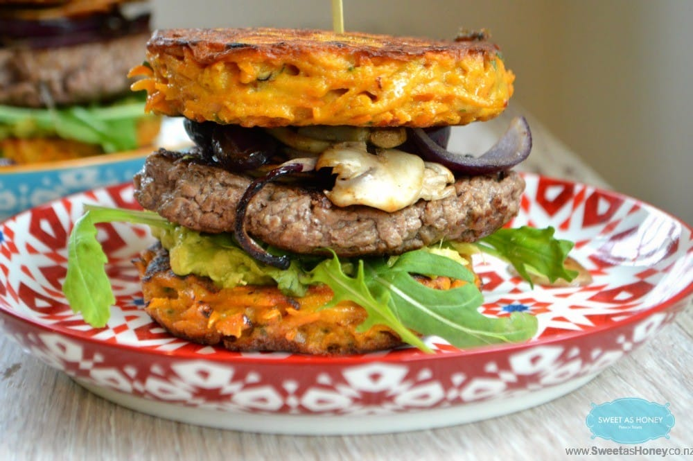 Low Carb Burgers - SweetAsHoney NZ