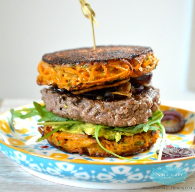 sweet potato patties burger buns