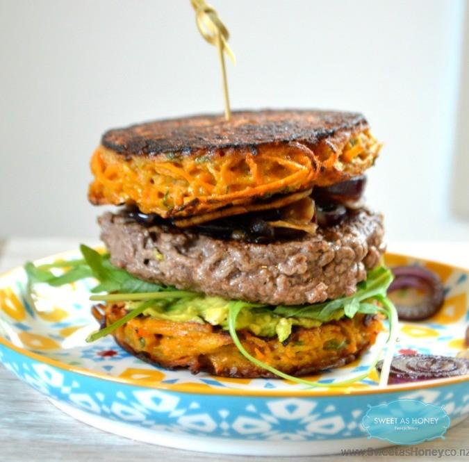 Sweet Potato Patties   Gluten free Burger Buns - Sweetashoney