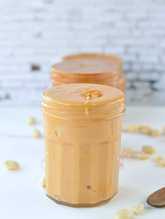 How to make healthy peanut butter ?