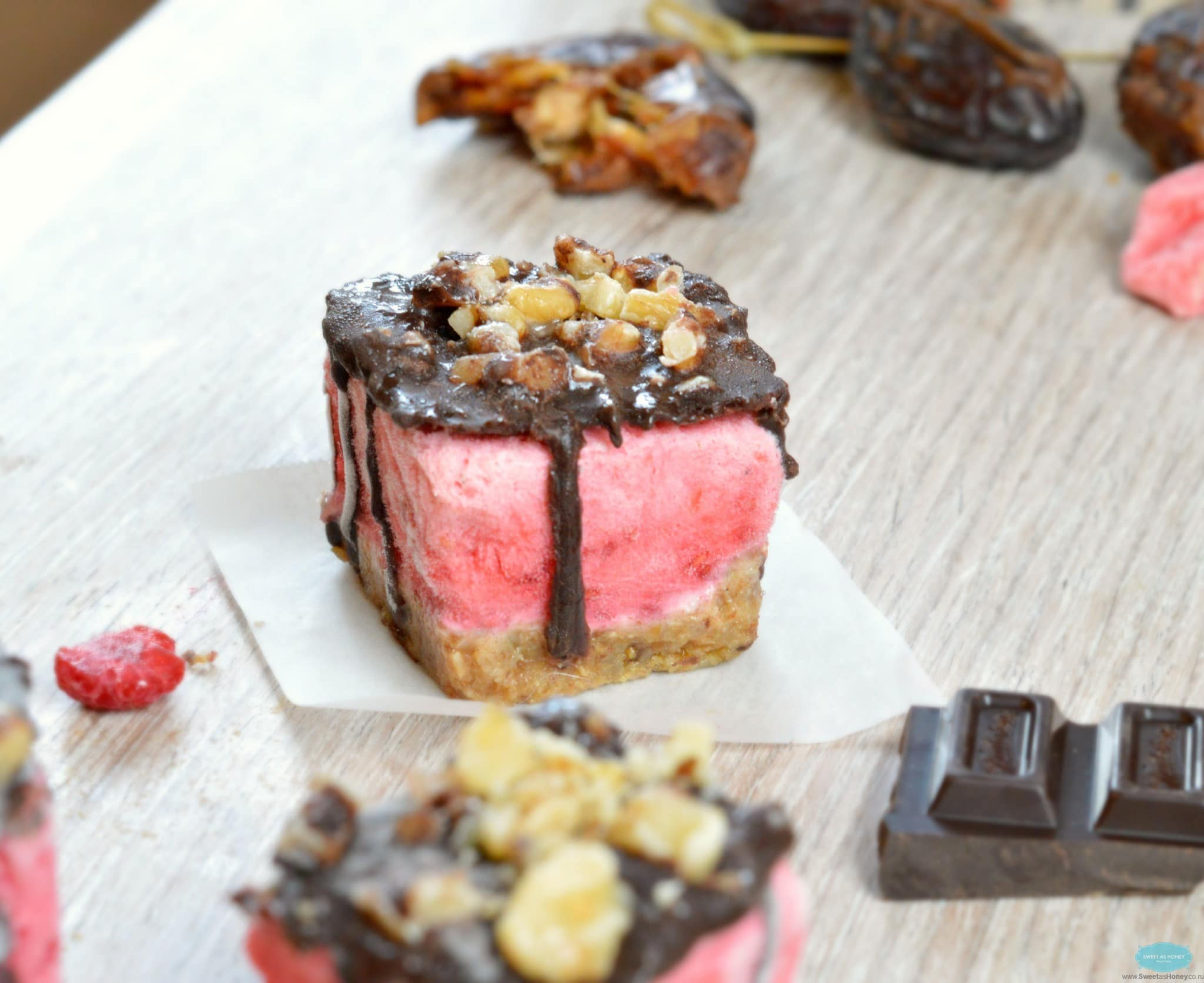 The healthiest raspberry ice cream sandwich ever and you know what ...