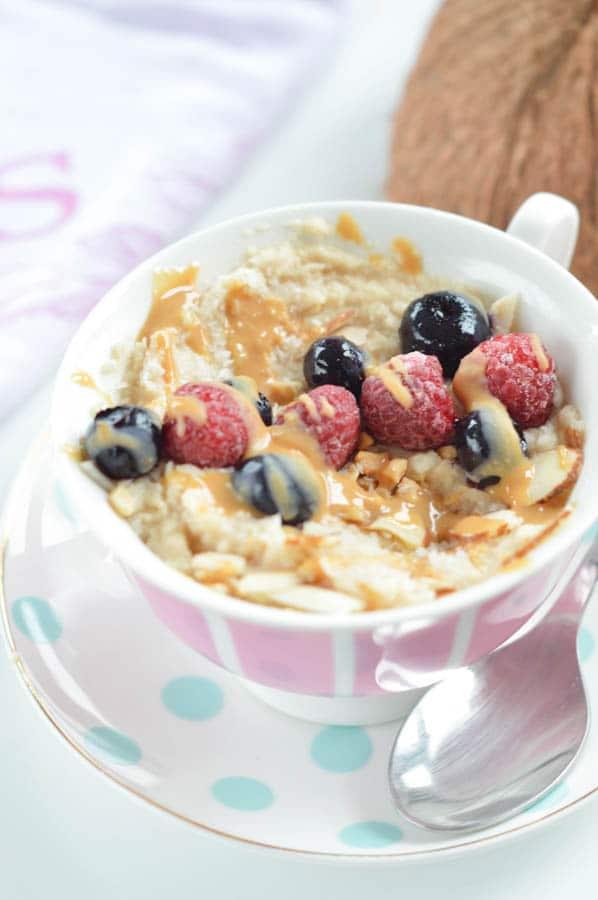 Low Carb Oatmeal Recipe Coconut Flour Porridge Sweetashoney