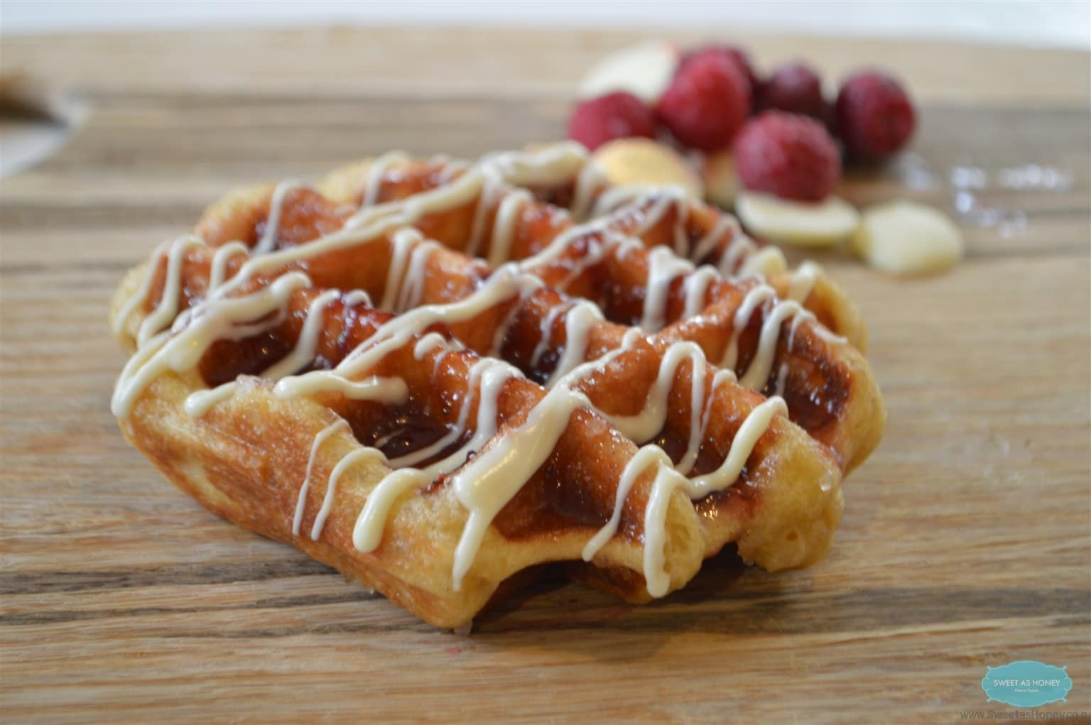 Liege Waffles - SWEETASHONEY
