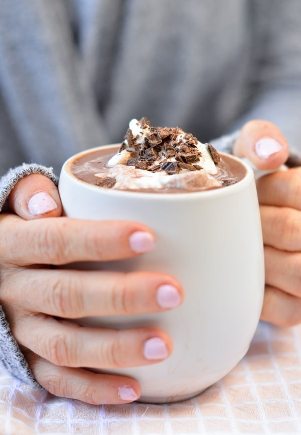 The BEST Low Carb Hot Chocolate
