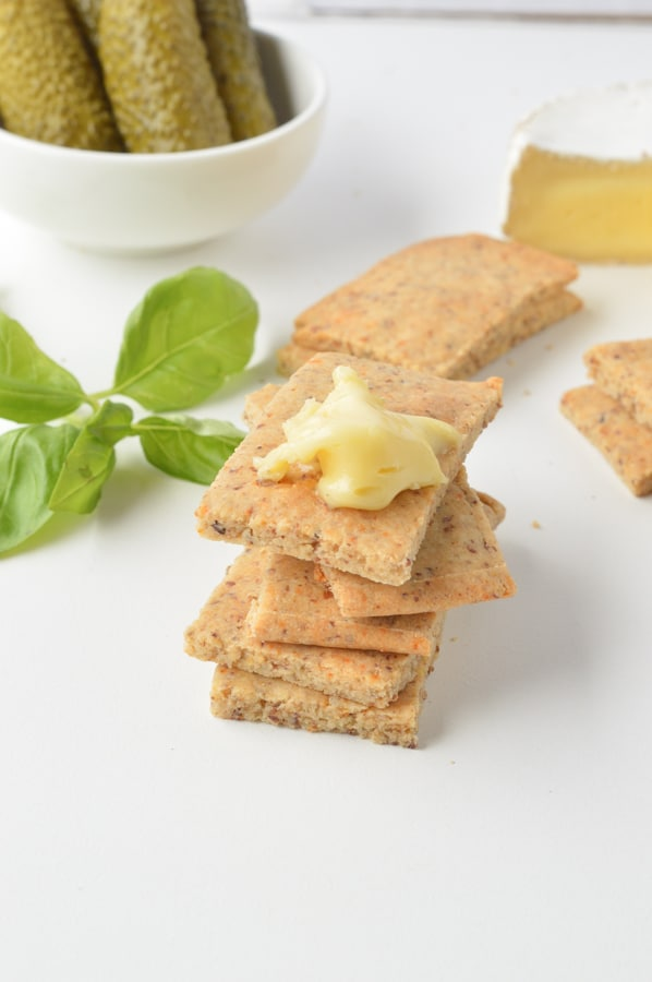 Almond Flour Crackers