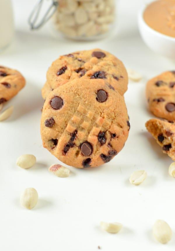 keto coconut flour peanut butter cookies