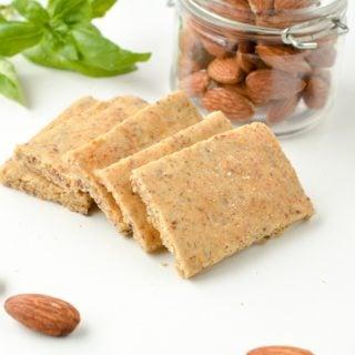 Almond Flour Crackers