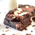 Low carb almond flour brownies