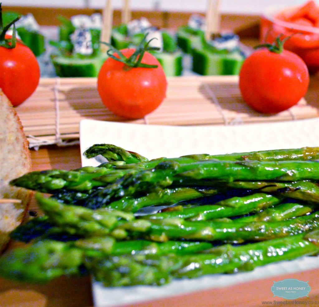 lemon roasted asparagus another healthy appetizer today i roasted ...