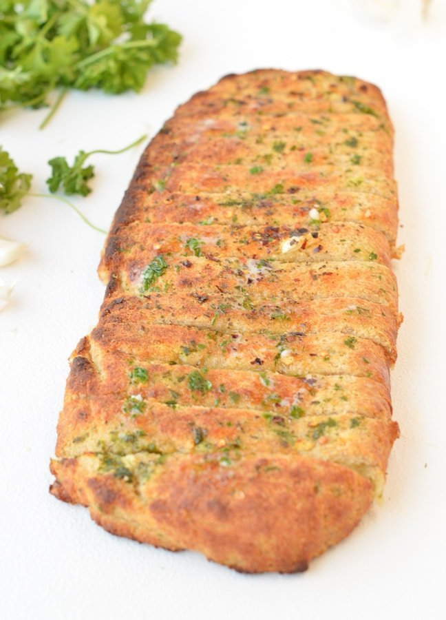 KETO GARLIC BREAD Easy, Cheesy Stuffed bread sticks #ketogarlicbread #ketobread #almondflour #easy #lowcarb #cheesy #quick #best