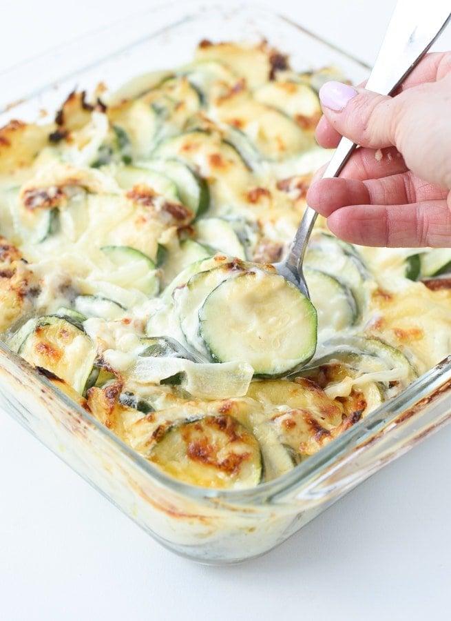 best keto zucchini casserole