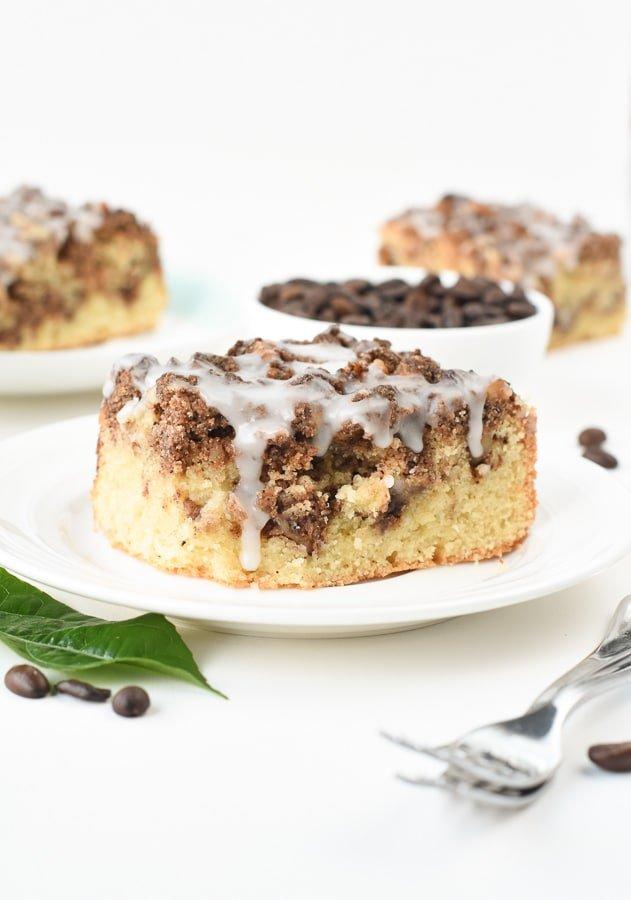Dairy free coffee cake