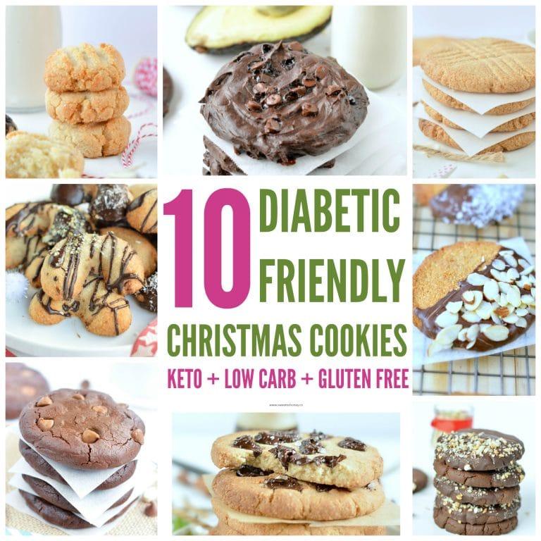 Diabetic Christmas cookies keto