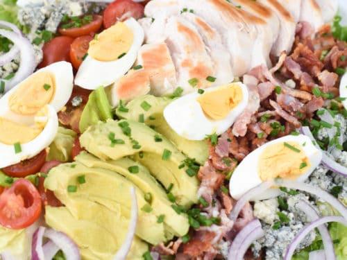 Easy cobb salad keto