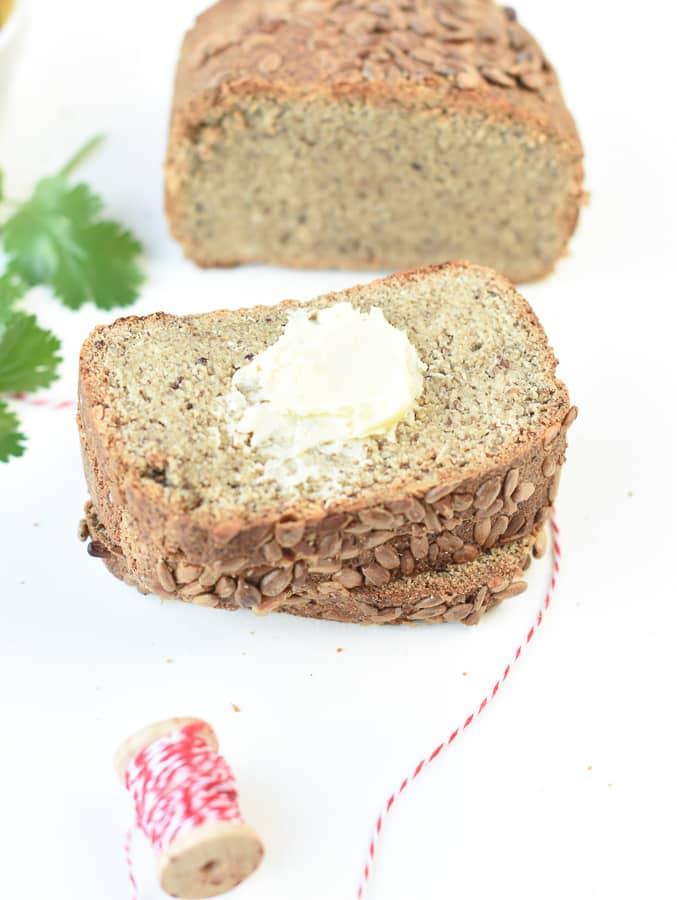 Egg free Keto Bread