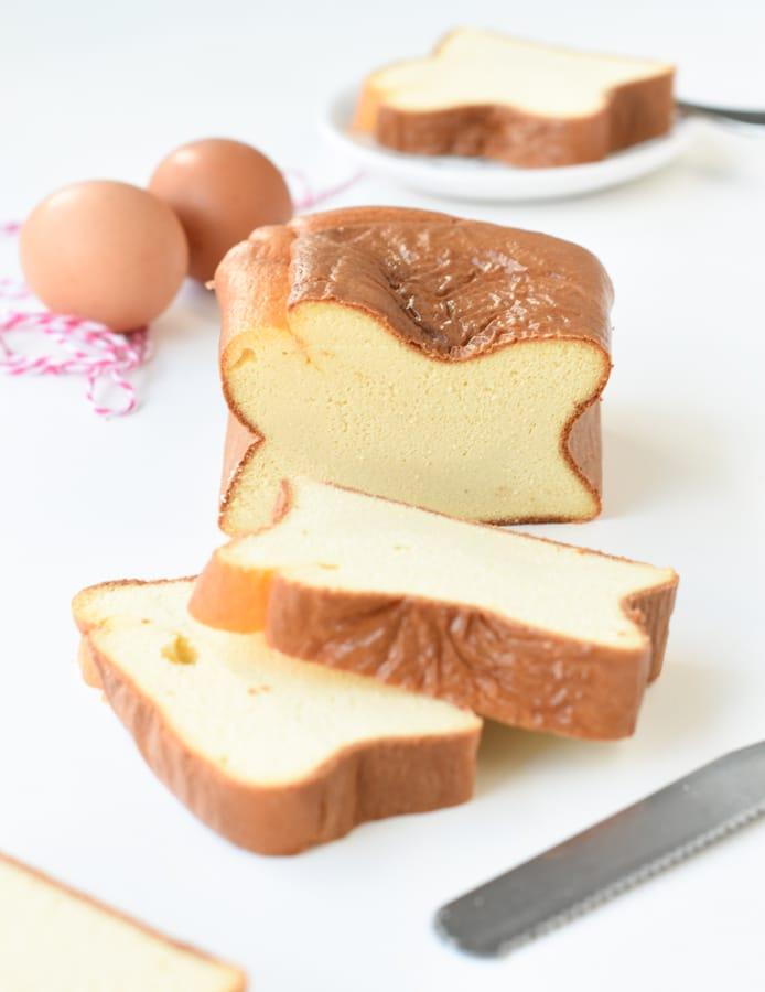 Egg loaf keto