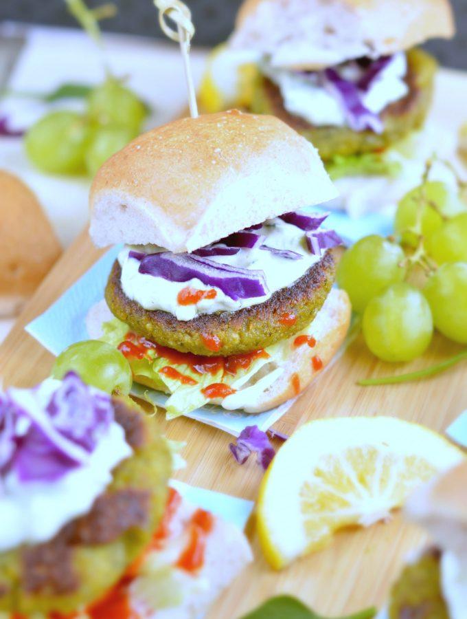 Falafel Sliders Vegan Gluten free